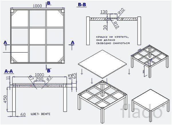 Продам Традиционный японский Стол Котацу - продам в Иркутске в разделе Мебель…