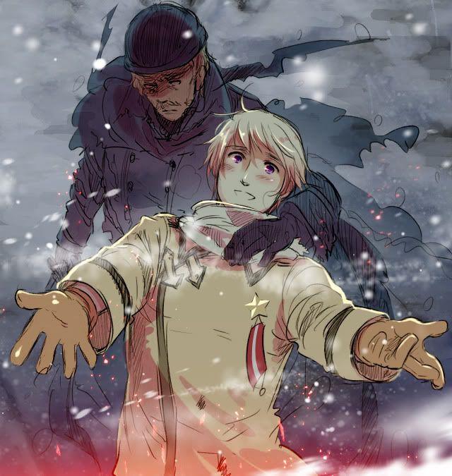 Axis Powers: Hetalia, Russia & General Winter