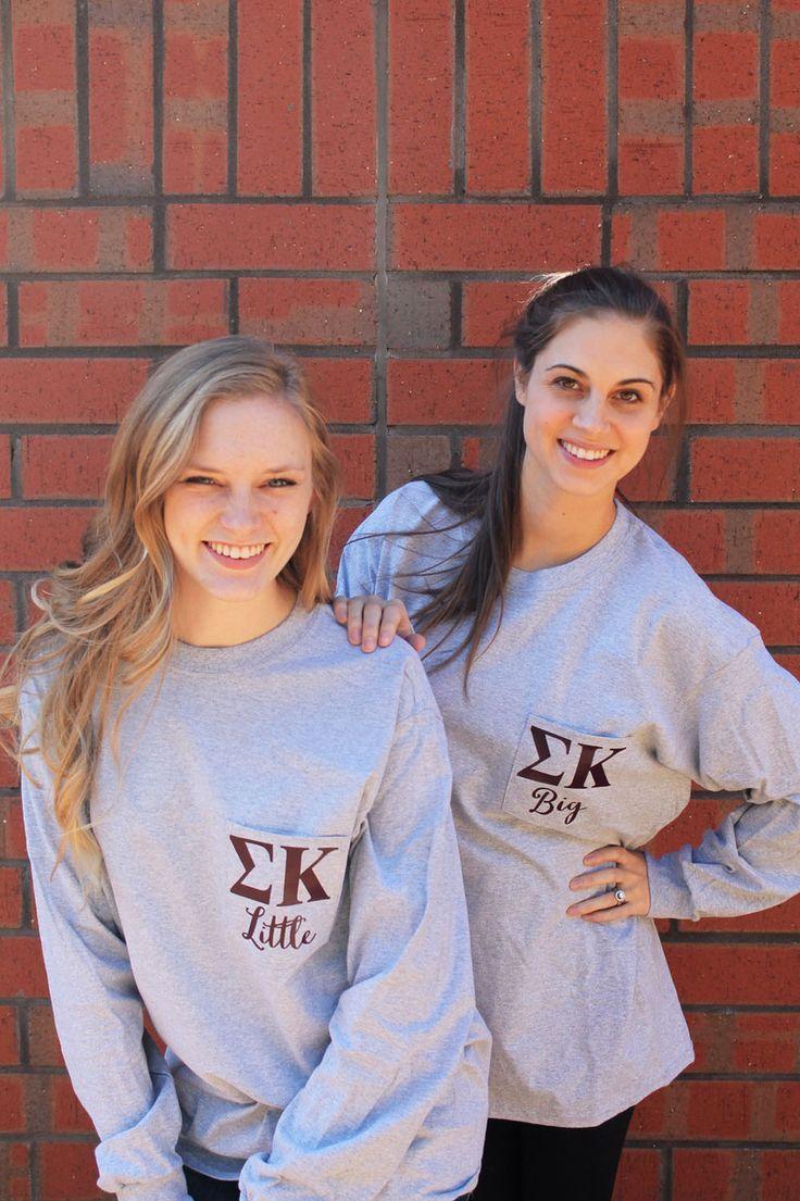Sigma Kappa Long Sleeve Big & Little Shirts