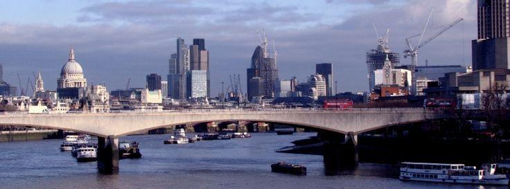Facebookカバー写真:ロンドン:ウェストミンスター橋から眺めたロンドン