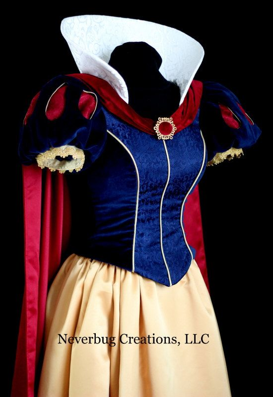 Adult Snow White Parks Costume by NeverbugCreations on Etsy