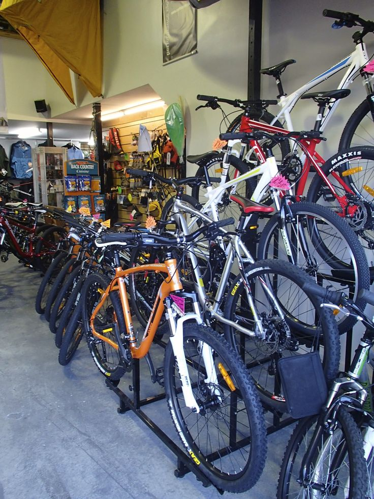 A selection of the Hard Tail bikes we have in store
