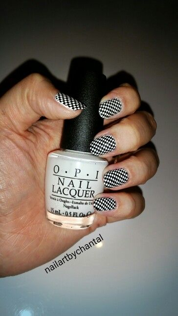 Black/White Nailart !