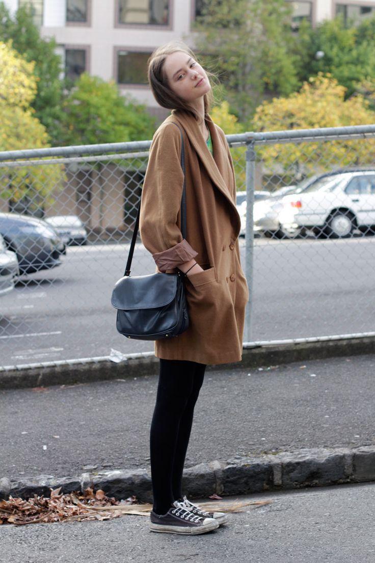 camel coat, perfect satchel: sleuth extraordinaire