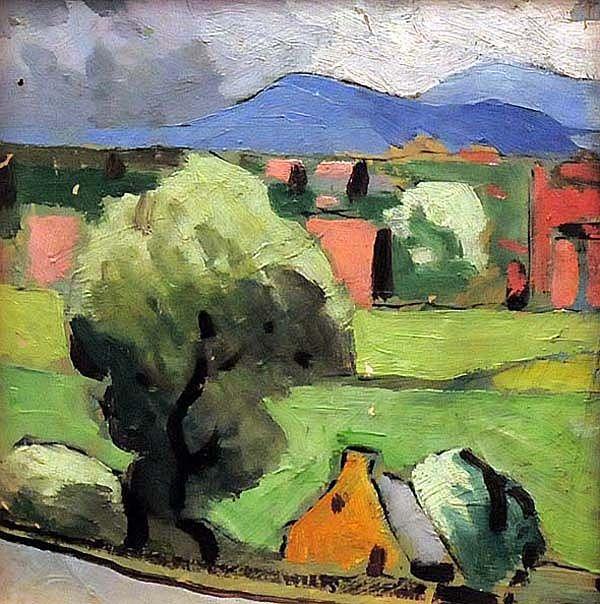 Marc-Aurèle FORTIN - Paysage à Montréal Est (c.1925)