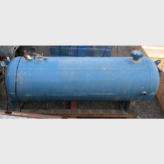 10 ft. x 40 in. Air Receiver.  10 foot horizontal air receiver. 40 inch diameter.  Capacity: 680 gallons. Maximum working pressure: 200 psi.         Shipping...