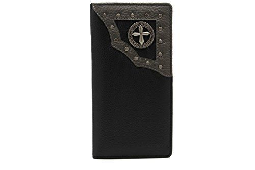 New Juzar Tapal Collection Small Cross Sign JTC5152-6 Cow Leather Biker Trucker Black Checkbook Wallet online. Find the perfect Fossil Mens-Wallets from top store. Sku bqew67996rzoy67093