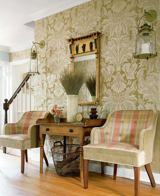 Formal Foyer Wallpaper : Best wallpaper thibaut images on pinterest designer