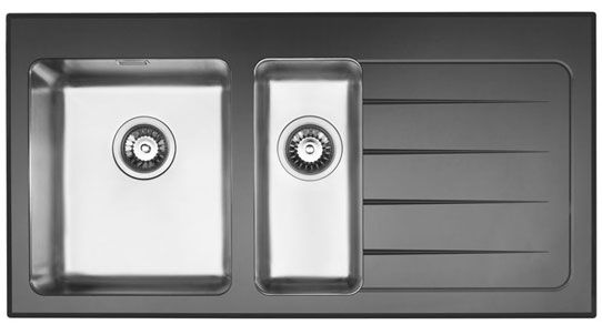 Bluci KubeVetro Glass Sink