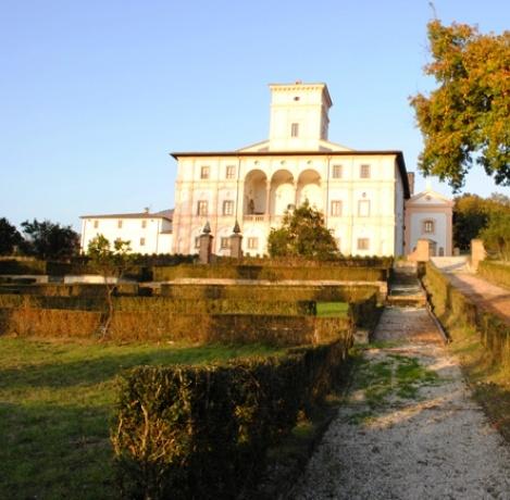 VILLA MAGHERINI GRAZIANI, San Giustino (Perugia)