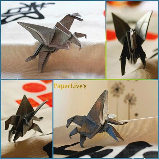 "The  Pegasus is an inspiring creature that give us strength and joy to keep on walking! Folded from the model of Eduardo Clemente of his book ""Papiroflexia""."