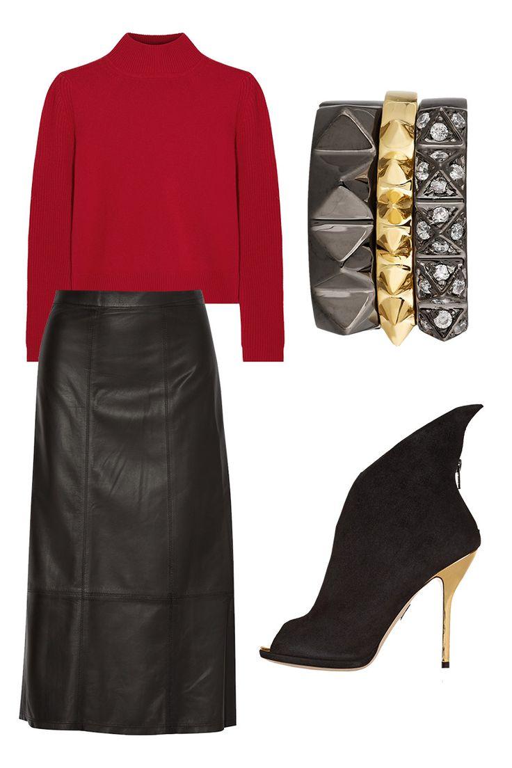 Thelist What To Wear Where Holiday Edition Moda Oto O Invierno Invierno Y Me Encantas