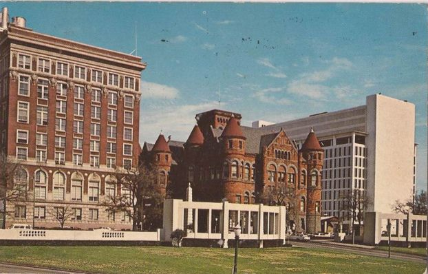 Vintage postcard: Dealey Plaza, downtown Dallas, Texas (1968) | Flickr - Photo Sharing!