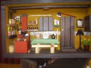Quadro Cozinha Mineira c/ porta canecas. Cozinha mineira Quadro Loja de Motos Quadro loja de motos-ocre Cozinha M...