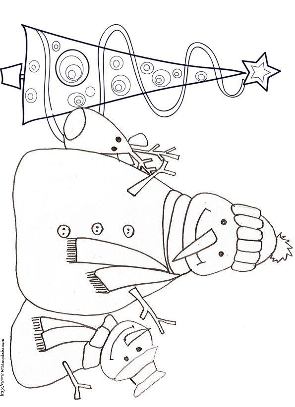 40 best images about pre k coloring pages on pinterest - Coloriage de renne ...
