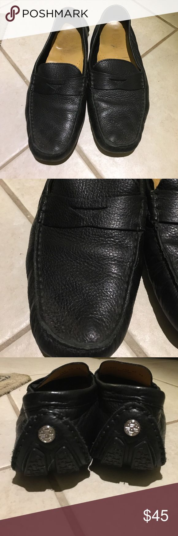 Cole Haan Trilby Driver leather loafers Gently used Cole Haan black leather loafers. Owned for a few years but only worn a handful of times. Cole Haan Shoes Flats & Loafers
