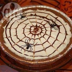 Photo recette : Cheesecake toile d'araignée