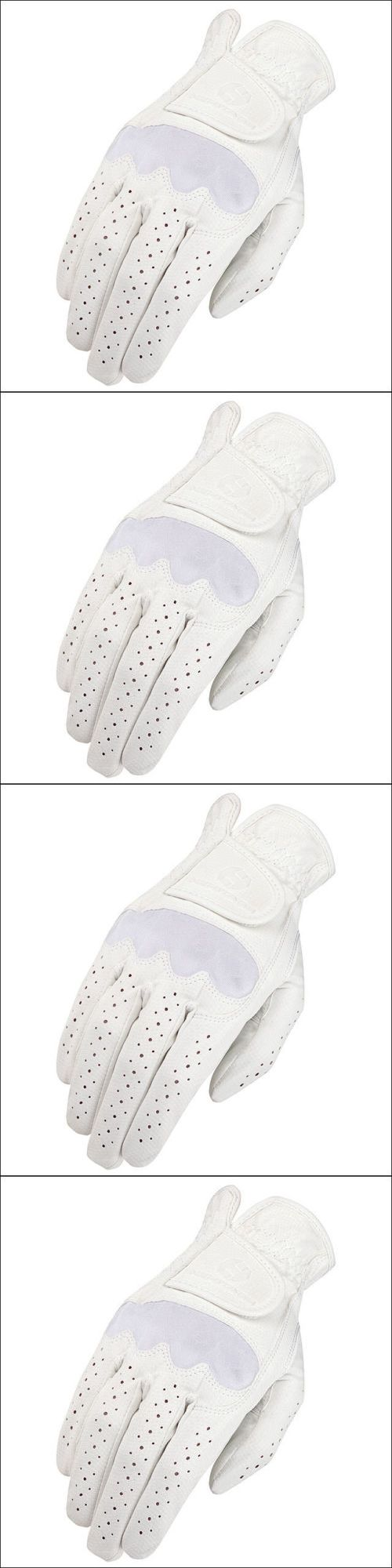 Riding Gloves 95104: 10 Size Heritage Spectrum Show Horse Riding Equestrian Glove Leather White -> BUY IT NOW ONLY: $33.99 on eBay!