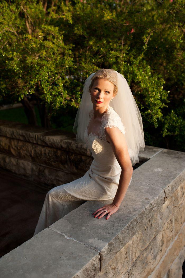 A Chateau Bellevue Austin Bridal Session With Bird Dog Wedding