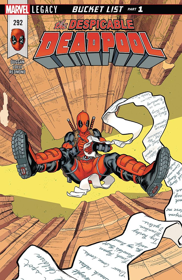 Despicable Deadpool (2017) #292 #Marvel @marvel @marvelofficial #DespicableDeadpool (Cover Artist: Mike Hawthorne) Release Date: 1/10/2018