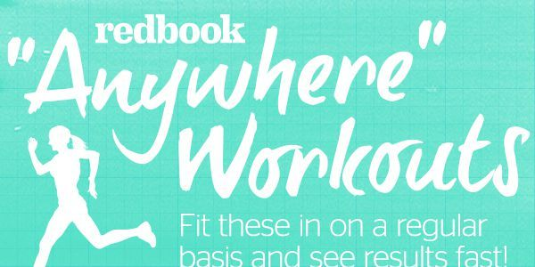 REDBOOK's fitness expert shares her secret to fitting in workouts with a busy schedule.