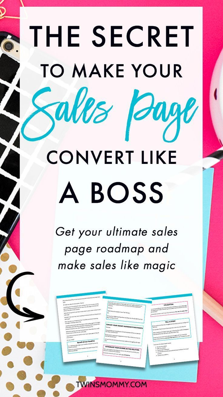 The Secret to Making Your Sales Page Convert Like a Boss – Did you just launch a product? Have you thought about your sales page design? There's something that all the pros are doing on their sales page that you're not. Find out what it is and make sure to grab my free sales page template of what to put on your page and where to put it.