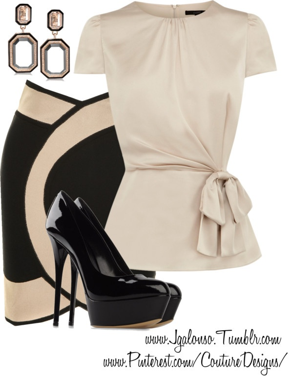 """""""Couture Chic Designs- Outfit- Jgalonso"""" by jgalonso on Polyvore"""