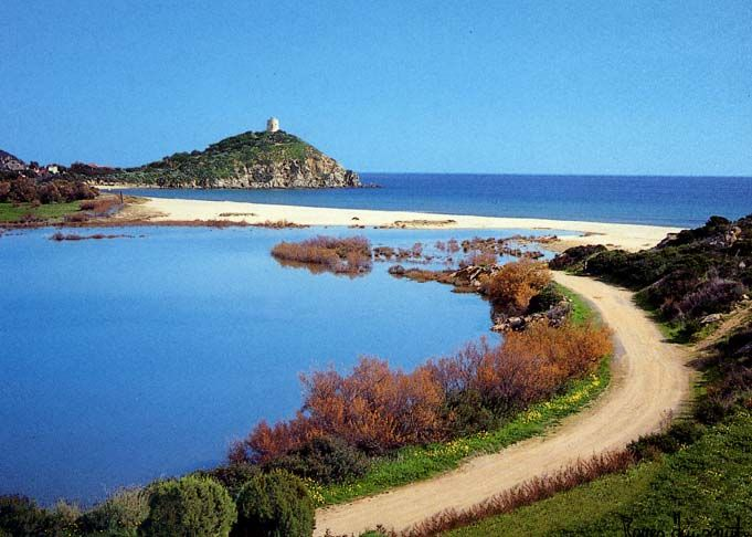 Chia, Sardinia Island , Italy