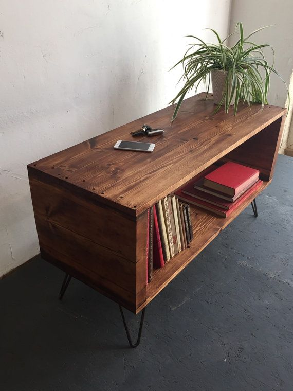 Stanton Record Player Stand / LP/ Vinyl Storage Cabinet / Console Coffee Table…