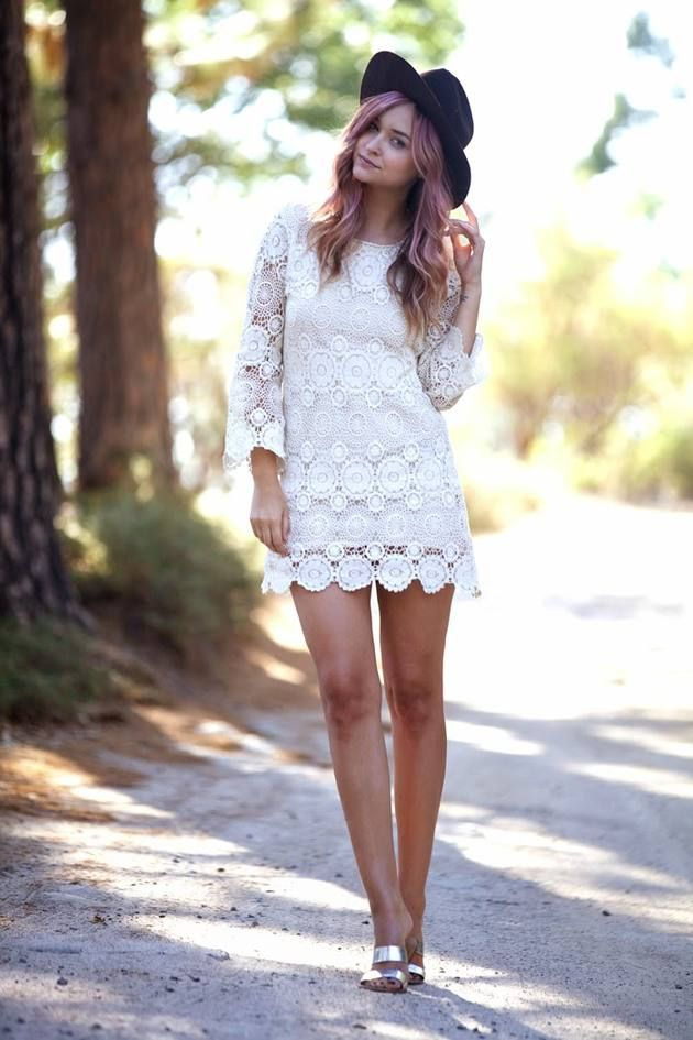 Zara romantic dress style