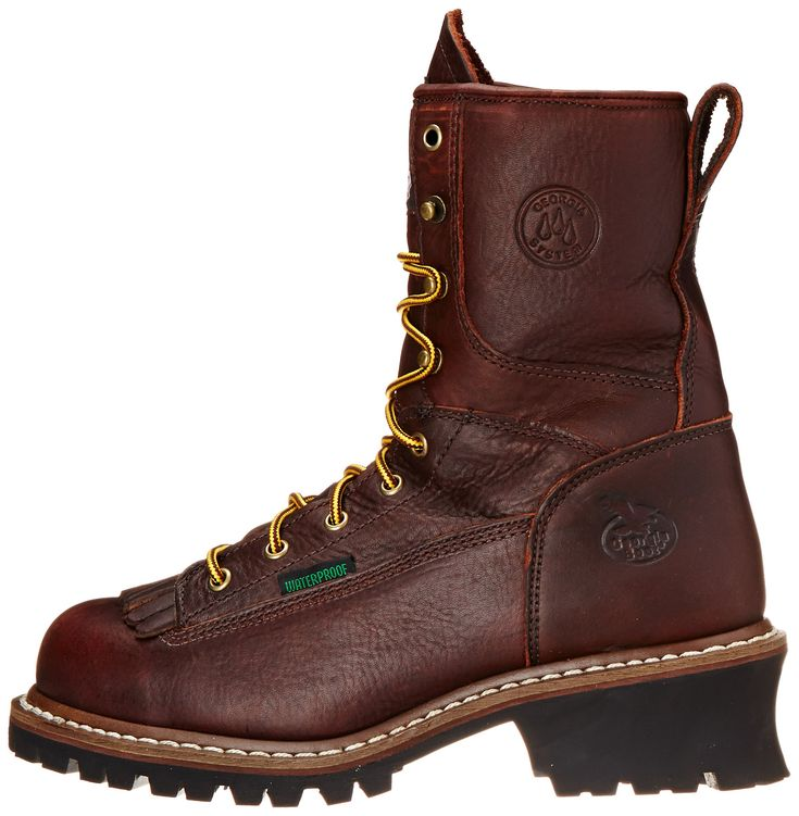 Georgia Boot Mens Loggers G7313 Work BootTumbled Chocolate10.5 M US ** Want to know more, click on the image. (This is an affiliate link) #BootBarn