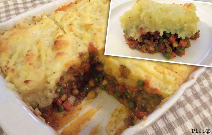 Shepard's pie is een klassiek Brits gerecht met lamsgehakt en groenten. Het zusje van de Shepard's pie is de Cottage pie. De Cottage pie wor...