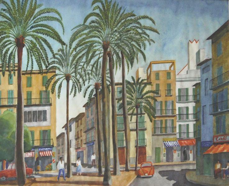 Josef Frank Watercolour between 1953-67, ©Anna