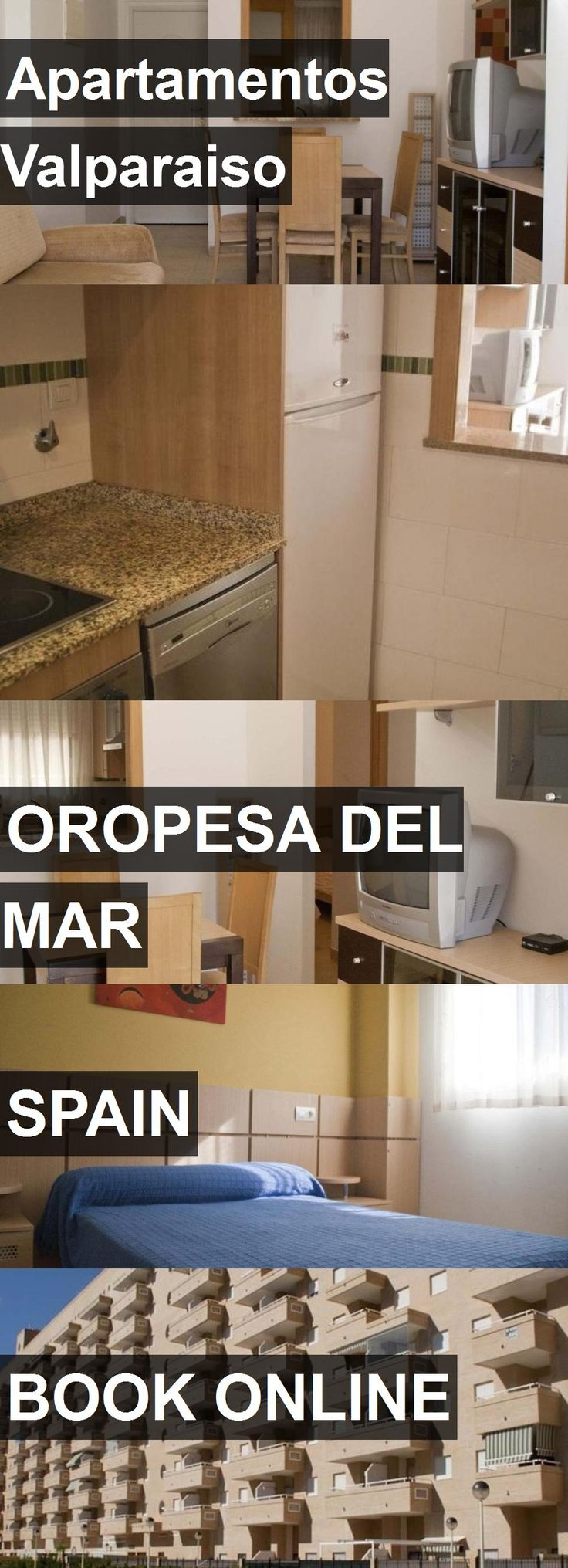 Hotel Apartamentos Valparaiso in Oropesa del Mar, Spain. For more information, photos, reviews and best prices please follow the link. #Spain #OropesadelMar #travel #vacation #hotel