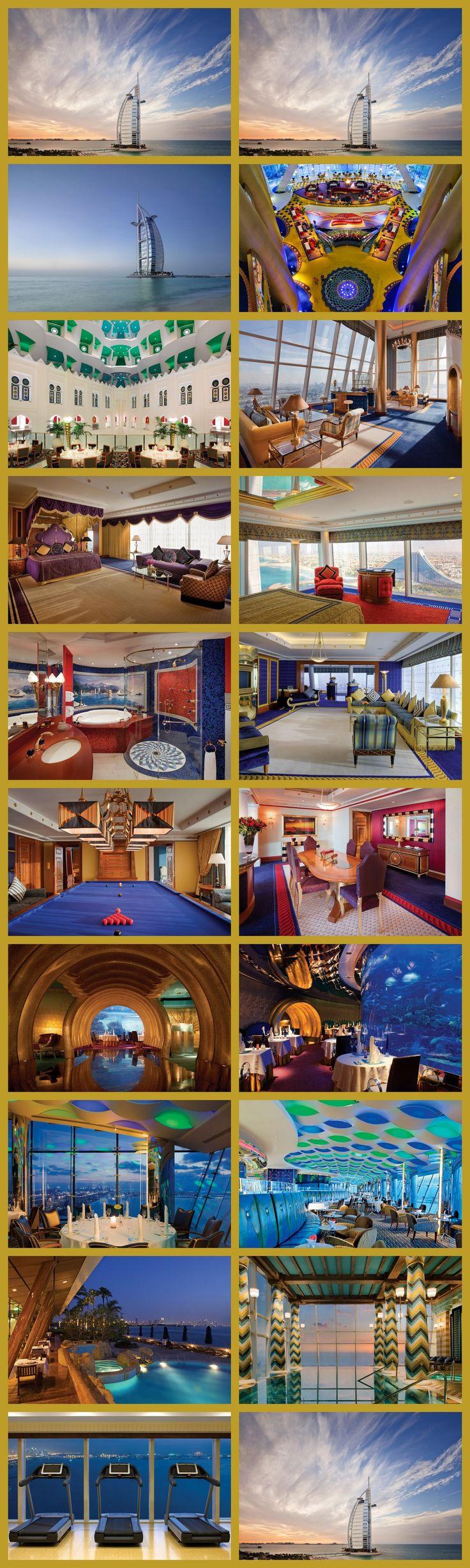 "Burj Al Arab ""World's Most Luxurious Hotel"" - Burj Al Arab ""Dünyanın En Lüks Oteli"""