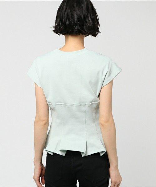 beautiful people(ビューティフルピープル)の「beautiful people ビスチェTシャツ(Tシャツ/カットソー)」|詳細画像