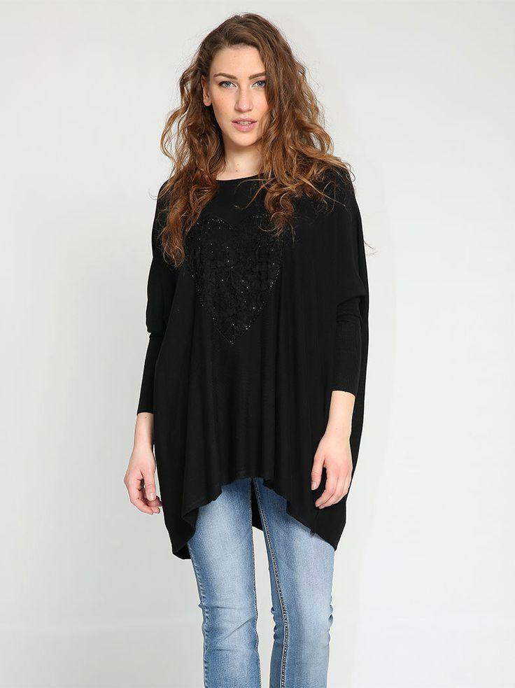 Φαρδιά μπλούζα με σχέδιο - 14,99 € - http://www.ilovesales.gr/shop/fardia-blouza-me-schedio-23/