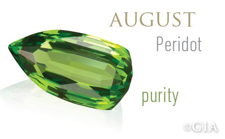 GIA Celebrates Birthstones – Peridot, the Gemstone Born From Fire. (01/17/13)