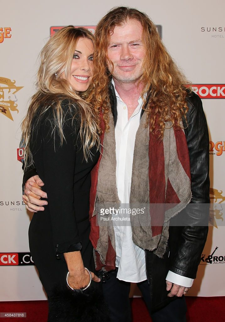 ~Dave Mustaine & Wife Pamela Anne Casselberry~