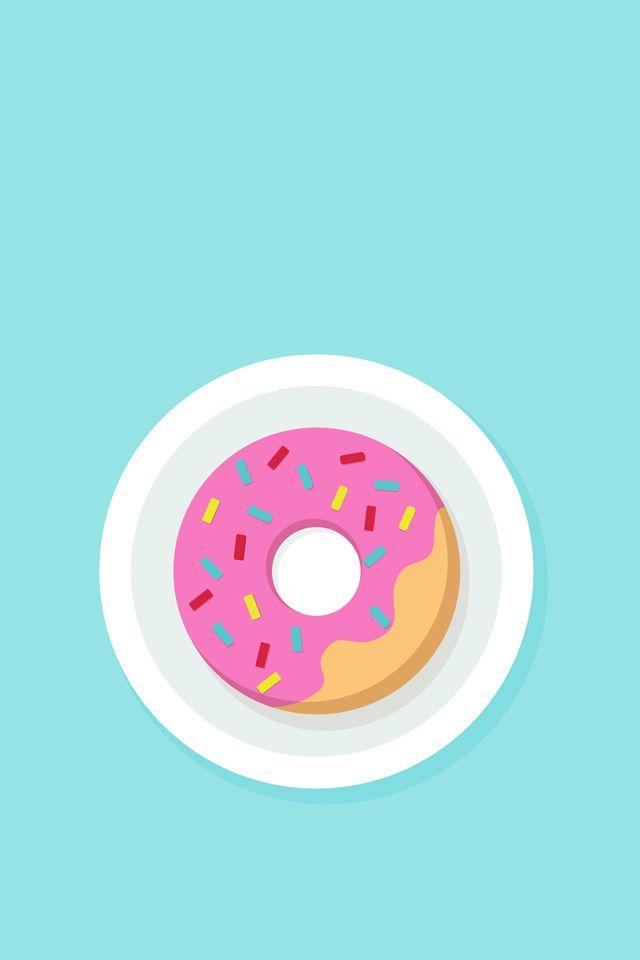 Tela de fundo donut