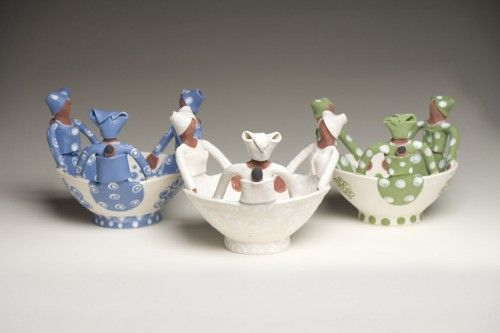 Gorgeous little #African #ceramic bowls