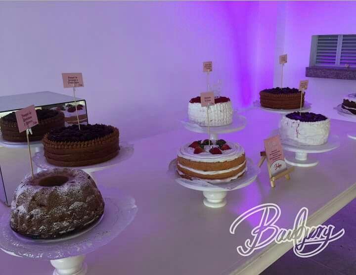 Ponqués de diferentes sabores para dar opciones a nuestros invitados