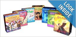 Someday when I am wealthy - I will own all the Harry Potter books in hardback and the audiobooks for long road trips.
