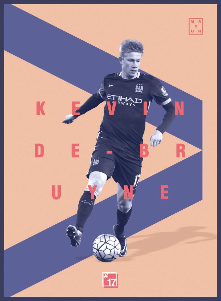 Kevin De bruyne Football Design