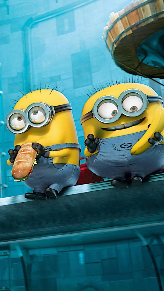 MINIONS, IPHONE WALLPAPER BACKGROUND