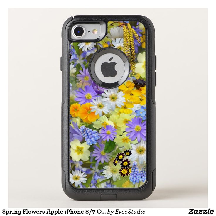 Spring Flowers Apple iPhone 8/7 OtterBox Commuter