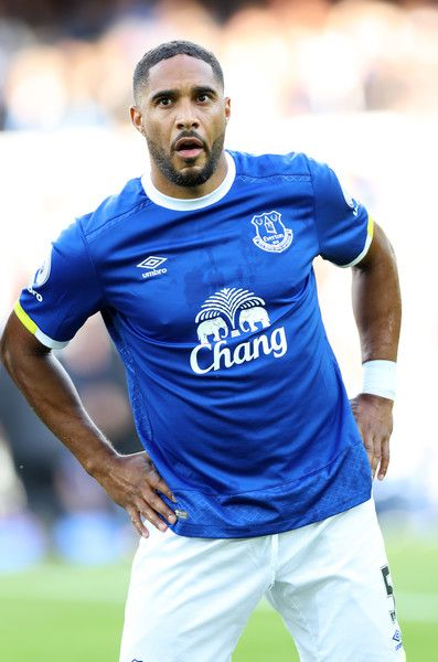 Ashley Williams of Everton during the Premier League match between Everton and…