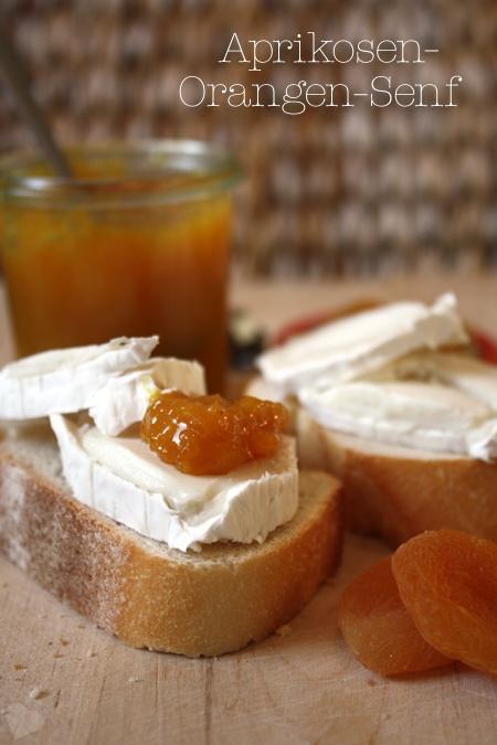 Aprikosen-Orangen-Senf - selbst gemacht  http://www.brandnooz.de/products/kuehne-senf-mittelscharf