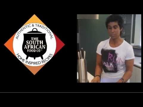 Fatima Whitbread tastes South African cuisine and loves the South African Food Company!