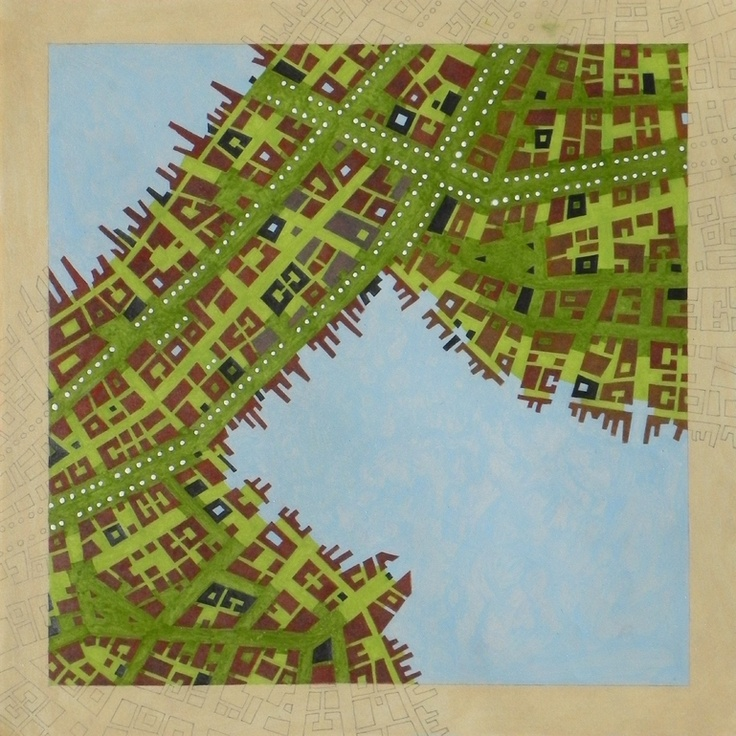 Netherlands Elevation Map%0A Federico Cortese Codes Imaginary Maps of Nonexistent Cities inspiration
